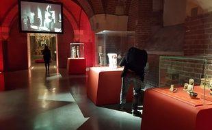 L'Open museum Séries Mania au Palais des Beaux-Arts de Lille.