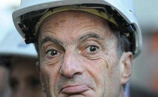Henri Proglio, alors PDG d'EDF, le 12 novembre 2012 lors d'une visite à Martigues, dans les Bouches-du-Rhône