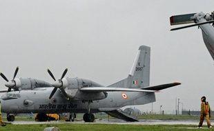 Un  AN-32 de l'armée de l'air indienne le 6 septembre 2014.