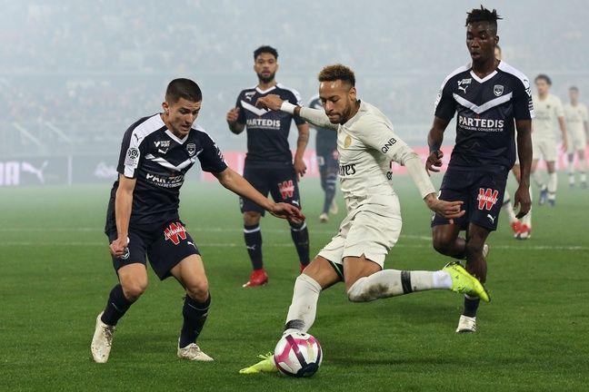 Palencia face à Neymar lors du dernier Bordeaux-PSG.