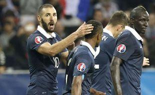 Karim Benzema face à l'Arménie
