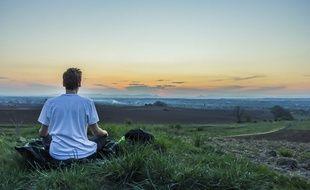 Illustration de la méditation.