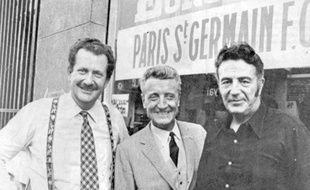 Pierre Bellemare lors de l'appel aux dons lancé le 1er février 1970.