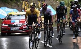 Duel en tête de course sur le Dauphiné