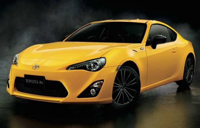 une s rie sp ciale yellow limited edition pour la toyota gt86. Black Bedroom Furniture Sets. Home Design Ideas
