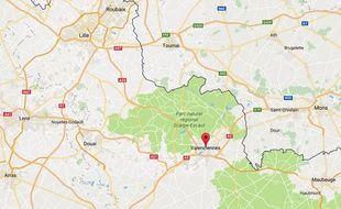 La ville de Valenciennes, dans le Nord.