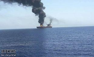 Un pétrolier attaqué en mer d'Oman