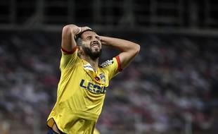 Florian Tardieu, le capitaine du FC Sochaux.