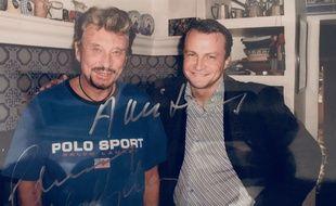 Christophe Royer a rencontré Johnny Hallyday chez lui, à Marne-la-Coquette, en 2005.