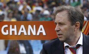 Le coach du Ghana, le Serbe Milovan Rajevac, lors de la Coupe du monde en Afrique du sud, en juin 2010.