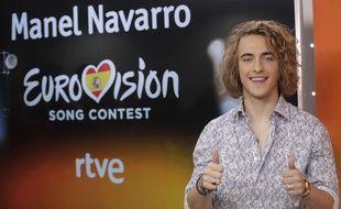 Manel Navarro représente l'Espagne à l'Eurovision 2017.
