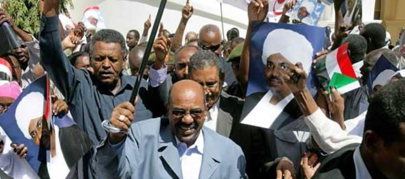 Le président soudanais Omar el-Béchir en mars 2009. AFP PHOTO/ASHRAF SHAZLY