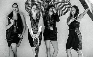 Les Only Girls, quatre jeunes filles dans le vent.