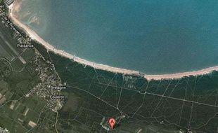 La femme a été foudroyée sur la plage de la Gautrelle, à Saint-George-d'Oléron