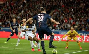 Photo d'un match de ligue 1, PSG \ Guingamp