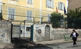 La sous-prefecture de Corte, déjà attaquée en avril 2012.