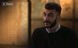 Le lanceur d'alertes Shamir Sanni sur la chaîne britannique Channel 4.