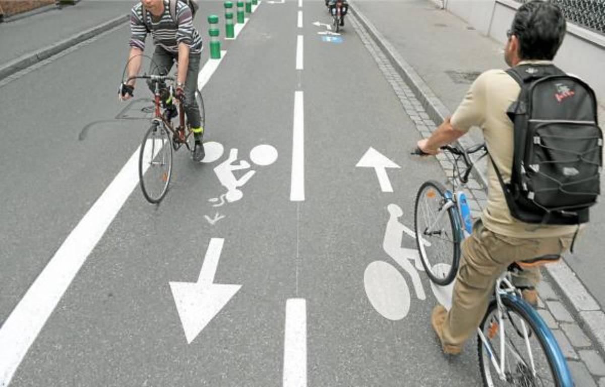 La pratique du vélo continue d'augmenter, notamment à Strasbourg. –  G. VARELA / 20 MINUTES