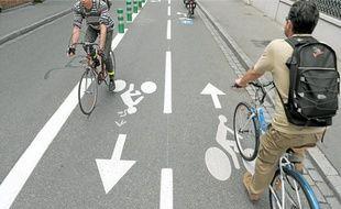 La pratique du vélo continue d'augmenter, notamment à Strasbourg.
