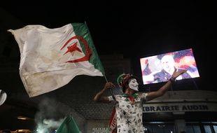 Un fan algérien