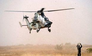 Un hélicoptère français au Mali en 2013. (archives)