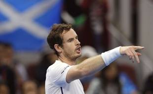 Andy Murray contre Seppi le 4 octobre 2016.