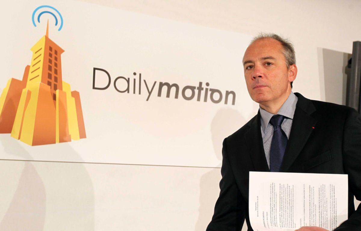 Stéphane Richard, le PDG de Orange. –  MEIGNEUX/SIPA