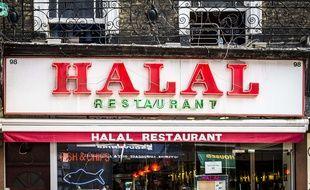 Un restaurant halal