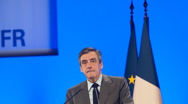 François Fillon en meeting à Poitiers le 9 février 2017. –  Jean Michel Nossant/SIPA