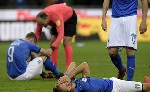 L'Italie est à terre, elle ne verra pas le Mondial russe en 2018.