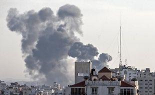 Une fillette palestinienne de 14 mois est décédée lors d'un raid de l'armée de l'Air israélienne sur la bande de Gaza, le 4 mai 2019.
