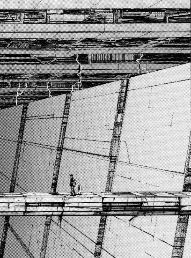 Le mangaka Tsutomu Nihei aime perdre ses personnages, et les lecteurs, dans des décors gigantesques et labyrinthiques