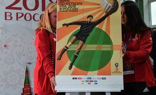 L'affiche du Mondial 2018 en Russie.