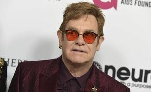 Elton John a fêté ses 70 ans le 26 mars 2017 à Los Angeles.
