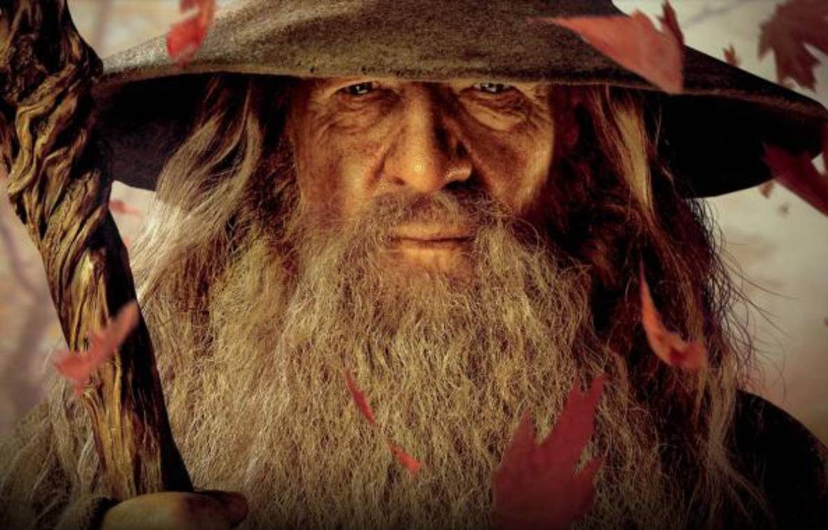 L'acteur Ian McKellen, qui incarne Gandalf dans le film «Le Hobbit». – NEW LINE CINEMA