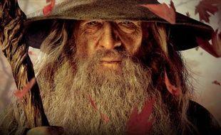 L'acteur Ian McKellen, qui incarne Gandalf dans le film «Le Hobbit».