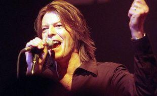 David Bowie à Dublin en 1999