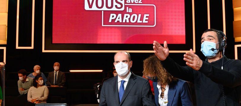 Jean Castex, lors de l'émission «Vous avez la parole» sur France 2, jeudi 24 septembre.