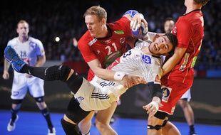 Fabregas lors du match entre la France et la Norvège au Mondial de handball, le 15 janvier 2017.