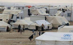 Un camp de réfugiés syriens près d'Amman en Jordanie, le 11 janvier 2015