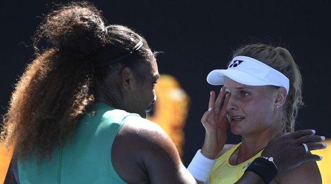 «Ne pleure pas», Serena console son adversaire après l'avoir expédiée