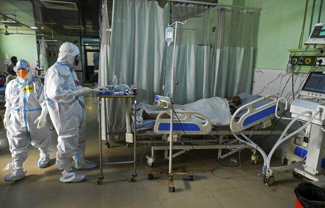 648x415 patient atteint covid 19 hopital moradabad inde 5 mai 2021 illustration