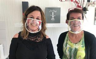 A Brest, Rozenn Fichou et Mary Gourhant ont créé des masques transparents très utiles aux sourds et malentendants.