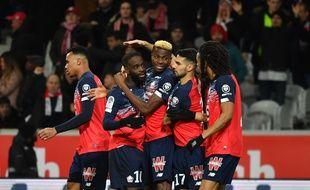 Les Lillois ont ouvert le score face à Rennes