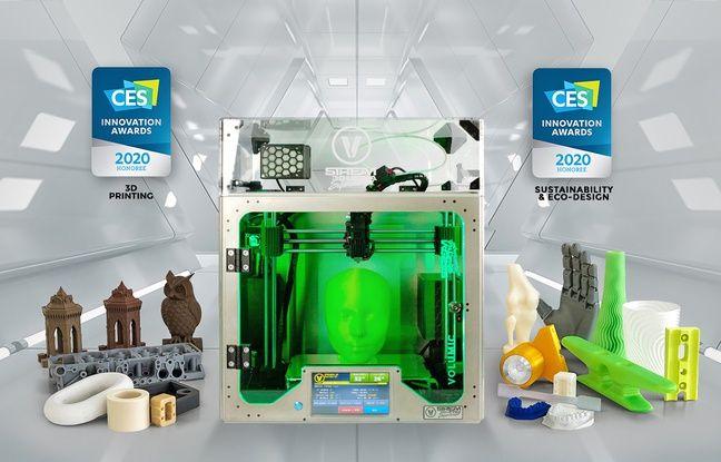 Imprimante 3D Stream 30 Ultra Supercharged, conçue et fabriquée par Volumic 3D