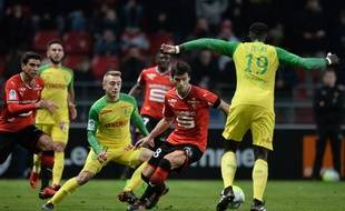 Depuis 2013, les Canaris n'ont toujours pas gagné contre Rennes.