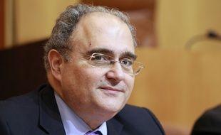 Paul Giaccobi (PRG), député et président du conseil exécutif de l'assemblée de Corse, le 24 avril 2014.