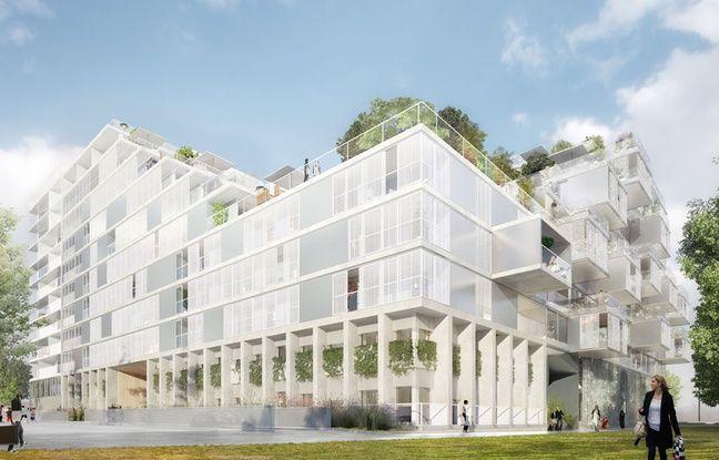 Image du projet de Clairsienne sur le périmètre de Bordeaux-Euratlantique