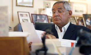 L'avocat Robert Bourgi dans son cabinet a Paris, le 9 septembre 2011.