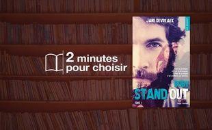 «Stand-Out, Tome 1 : Boby» par Jane Devreaux. chez Hugo Roman (360 p., 17€).